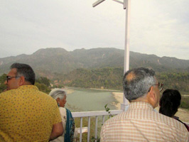 Members of RF and GPH enjoying the view